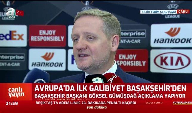 Göksel Gümüşdağ'dan UEFA'ya 'asker selamı' göndermesi