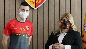 Kayserispor'da Maglica tamam