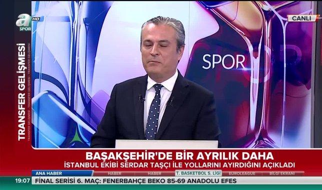 Başakşehir'de Serdar Taşçı ile yollar ayrıldı | Video haber