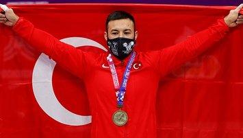 Milli halterci rekor kırdı altın madalyayı kazandı!