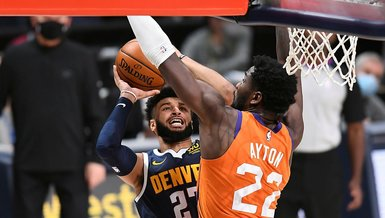 NBA'de Phoenix Suns Denver Nuggets'ı 106-103 mağlup etti!