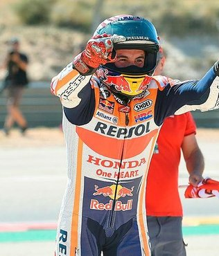 MotoGP Aragon Grand Prix'inde zafer Marquez'in
