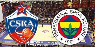 CSKA - F.Bahçe Doğuş | CANLI