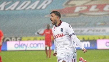 Trabzonspor Gaziantep FK 1-0 (MAÇ SONUCU - ÖZET)