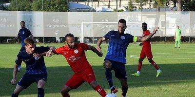 Antalyaspor hazırlık maçında FC Desna Chernihiv'i mağlup etti
