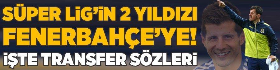 Süper Lig'in 2 yıldızı F.Bahçe'ye! İşte transfer sözleri...