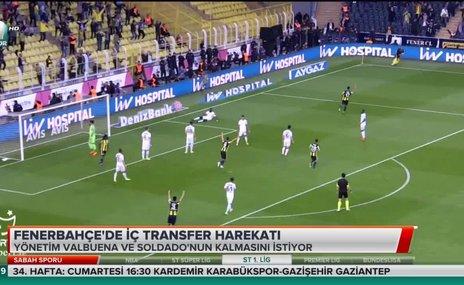 Fenerbahçe'de iç transfer harekatı