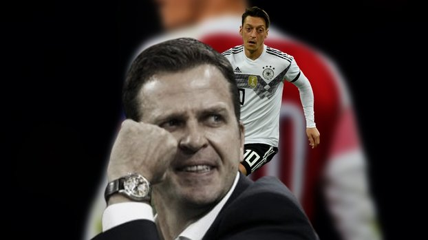 "Oliver Bierhoff'tan Mesut Özil açıklaması! ""Masaya oturursa..."" #"