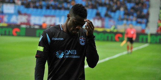 Trabzonspor'dan son dakika sakatlık açıklaması... Ekuban sahalara ne zaman dönecek?