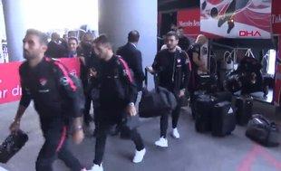 A Milli Takım Andorra maçı için İspanya'ya hareket etti