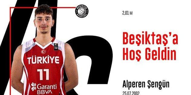 Beşiktaş 18 yaşındaki Alperen Şengün'ü kadrosuna kattı - Futbol -