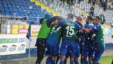 Çaykur Rizespor Gaziantep FK 3-0 (MAÇ SONUCU - ÖZET)