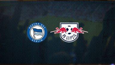 Hertha Berlin - RB Leipzig maçı ne zaman, saat kaçta ve hangi kanalda canlı yayınlanacak? | Almanya Bundesliga