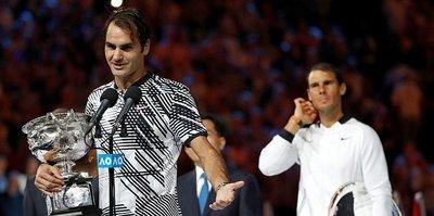 Şampiyon Roger Federer