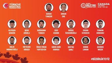 Son dakika spor haberleri | A Milli Erkek Basketbol Takımı'mızın kadrosu açıklandı!