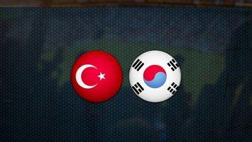 Türkiye Güney Kore maçı ne zaman, saat kaçta, hangi kanalda ?