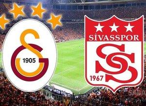 Galatasaray Sivasspor maçı kadrosunu açıkladı