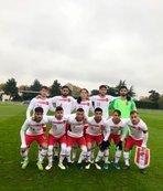 20 Yaş Altı Milli Futbol Takımı Fransa'ya 4-0 yenildi