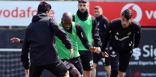 Beşiktaş kondisyon ve taktik çalıştı