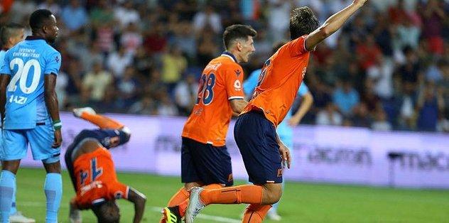 Trabzonspor sezona Başakşehir mağlubiyetiyle başladı! Medipol Başakşehir: 2-0 Trabzonspor maç sonucu