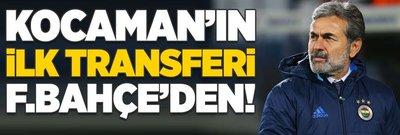 Aykut Kocaman'ın ilk transferi Fenerbahçe'den