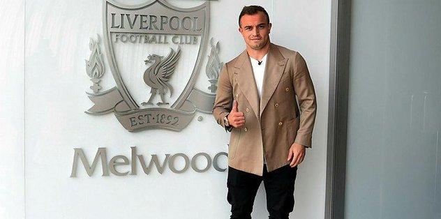 Xherdan Shaqiri Liverpool'da!