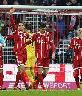 Bayern Münih dörtlük yaptı