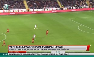 Yeni Malatyaspor'un Avrupa hayali