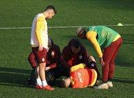 Galatasaray'da şok sakatlık! İdmanı yarıda bıraktı