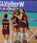 Galatasaray'da Dörtlü Final sevinci