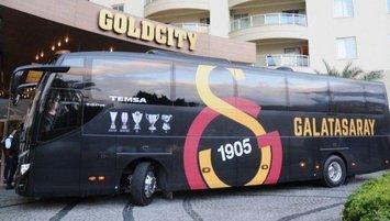 Galatasaray kafilesi Rusya'ya gitti!