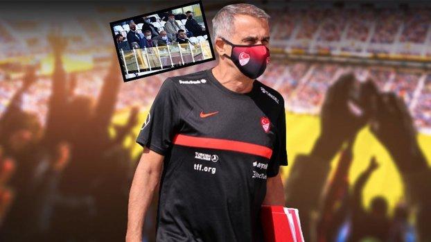 Şenol Güneş İstanbulspor ile Akhisarspor maçını izledi! #