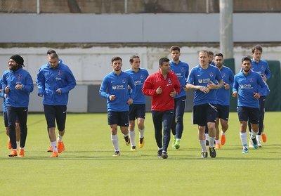 Trabzonda derbi hazırlıkları sürüyor