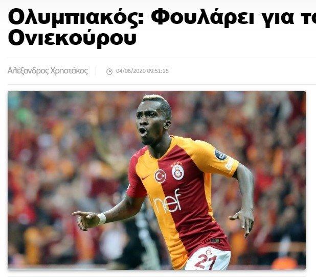 Onyekuru Galatasaray dışında hangi takımla transfer için görüştü? İşte yanıtı - Futbol -