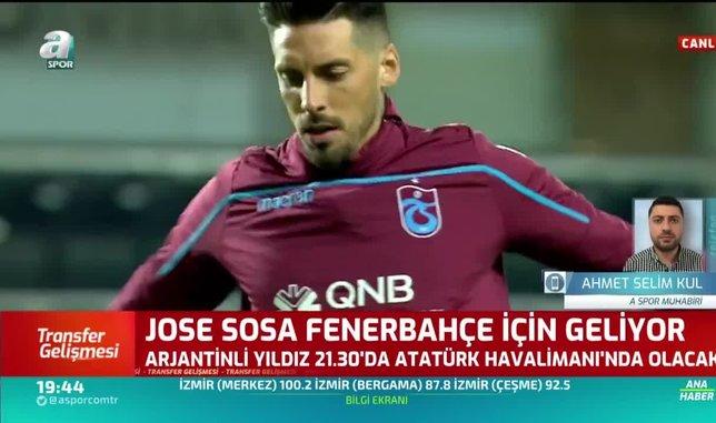 jose sosa 2130da istanbulda olacak 1597855972001 - Son dakika: Jose Sosa İstanbul'da!