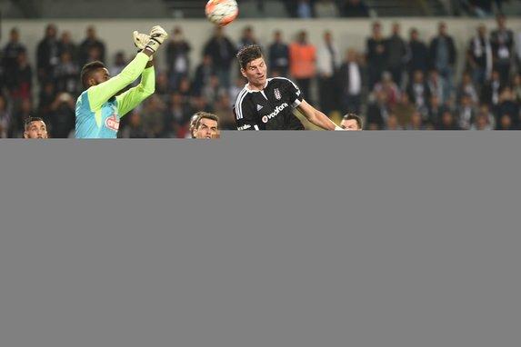 Beşiktaş-Ç.Rizespor maçından kareler