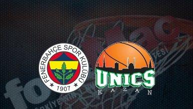 Fenerbahçe Beko - Unics Kazan maçı ne zaman? Fenerbahçe Euroleague maçı saat kaçta? Hangi kanalda canlı yayınlanacak?   THY Avrupa Ligi