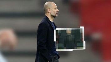 Herkes onu konuşuyor! Guardiola'nın paltosu olay oldu