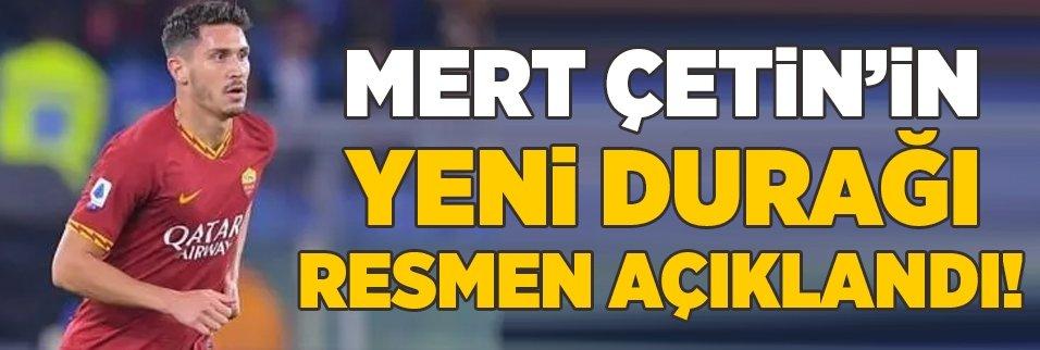 roma milli futbolcu mert cetini veronaya kiraladi 1598284978520 - Mert Çetin: Beşiktaş, Fenerbahçe ve Galatasaray tarafından istenilmek gurur verici