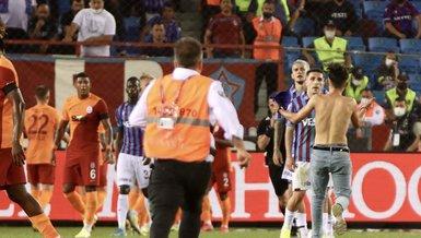 Son dakika Trabzonspor haberi: Sahaya atlayan taraftardan açıklama geldi! Abdülkadir Ömür...