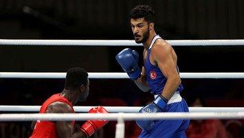 Milli boksörümüz Bayram Malkan şov yaptı!