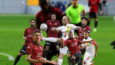 Gençlerbirliği-Yeni Malatyaspor: 1-1 (MAÇ SONUCU-ÖZET)