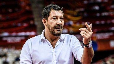A Milli Basketbol Antrenörü Sarıca: Elimizdeki kadroyla kazanmak istiyoruz