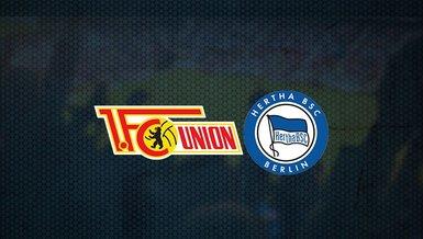 Union Berlin - Hertha Berlin maçı ne zaman, saat kaçta ve hangi kanalda canlı yayınlanacak? | Almanya Bundesliga