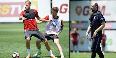 Galatasaray'da Alanyaspor hazırlıkları