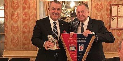 Lyon'dan Beşiktaş'a dostluk yemeği