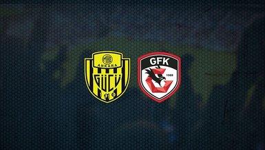 Ankaragücü - Gaziantep FK maçı ne zaman, saat kaçta ve hangi kanalda canlı yayınlanacak? | Süper Lig