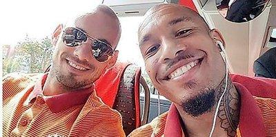 """Sneijder'siz olmaz"""