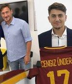 """Cengiz Ünder:  """"Totti, 'sana inanıyorum' dedi"""""""
