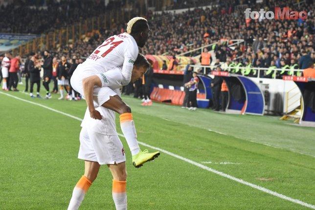 Yeni Malatyaspor - Galatasaray maçından kareler...